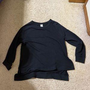Avia Black Tunic Sweatshirt